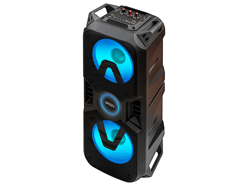 Колонка Ginzzu GM-207 Black