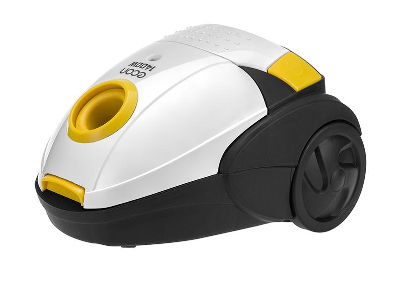 Пылесос Econ ECO-1401VB White-Yellow