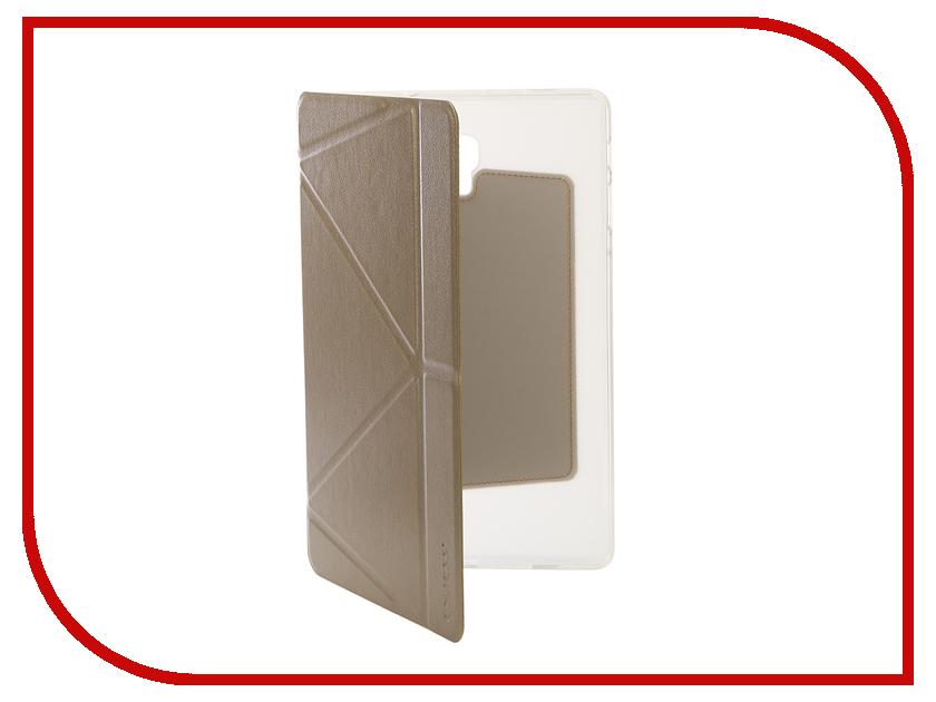 Аксессуар Чехол для Samsung Tab A2 10.5 SM-T595 Onjess Smart Champange 908035 аксессуар чехол palmexx for samsung galaxy tab e 9 6 sm t561n smartslim иск кожа white