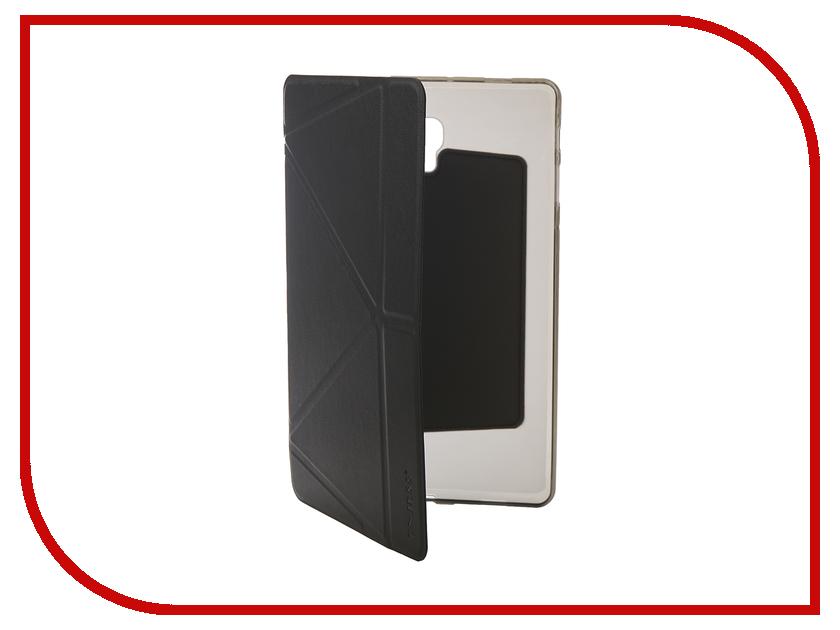 Аксессуар Чехол для Samsung Tab A2 10.1 SM-T595 Onjess Smart Black 908036 аксессуар чехол samsung j3 2017 j330f zibelino clear view black zcv sam j330 blk