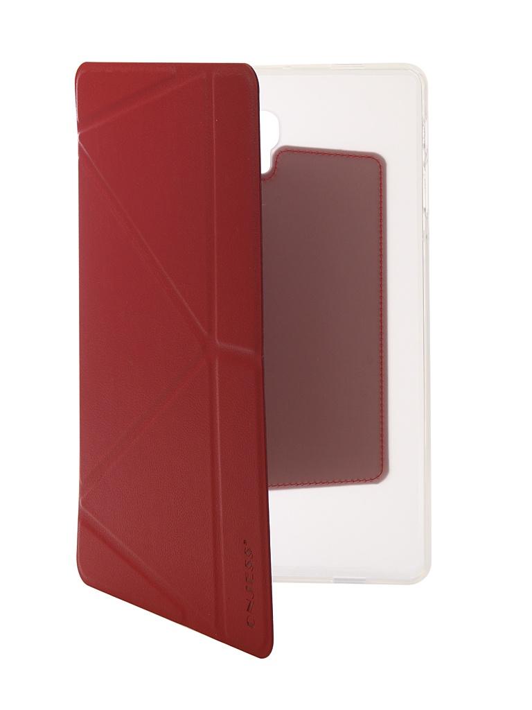 Аксессуар Чехол Onjess для Samsung Tab A2 10.1 SM-T595 Smart Red 908037 аксессуар чехол onjess для samsung tab a 7 0 sm t285 smart black 908039