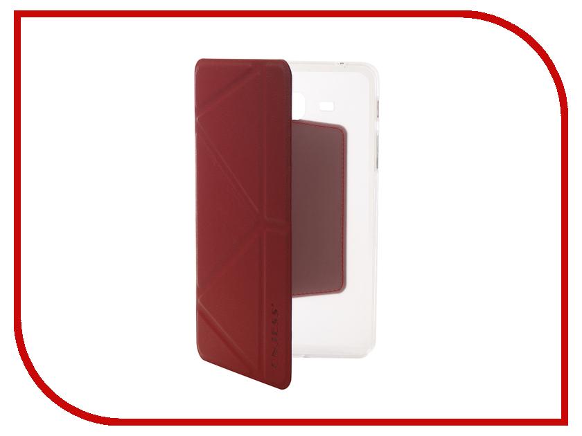 Аксессуар Чехол для Samsung Tab A 7.0 SM-T285 Onjess Smart Red 908040 аксессуар