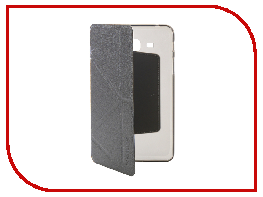 Аксессуар Чехол для Samsung Tab A 7.0 SM-T285 Onjess Smart Grey 908041 аксессуар чехол palmexx for samsung galaxy tab e 9 6 sm t561n smartslim иск кожа white