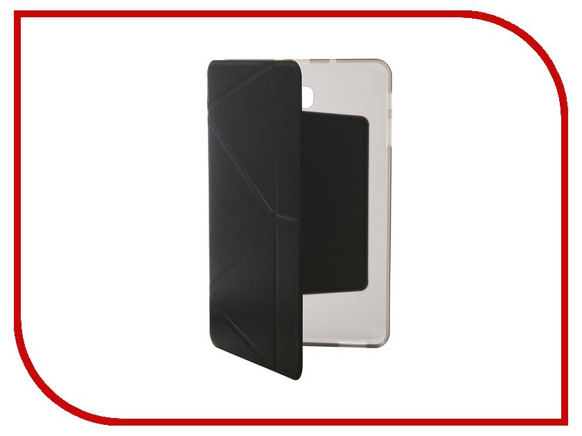 Аксессуар Чехол для Samsung Tab A 10.1 SM-T580/585 Onjess Smart Black 908043 аксессуар чехол samsung j3 2017 j330f zibelino clear view black zcv sam j330 blk