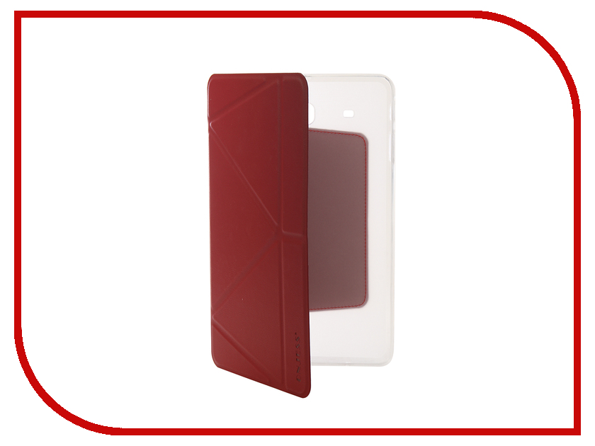 Аксессуар Чехол для Samsung Tab E 9.6 SM-T561 Onjess Smart Red 908049 360 rotating cover capa para for case samsung galaxy tab e 9 6 sm t560 t561 pu leather stand smart tablet covers w stylus pen