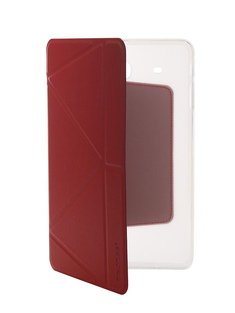 Аксессуар Чехол Onjess для Samsung Tab E 9.6 SM-T561 Smart Red 908049 аксессуар чехол onjess для samsung tab a 7 0 sm t285 smart black 908039