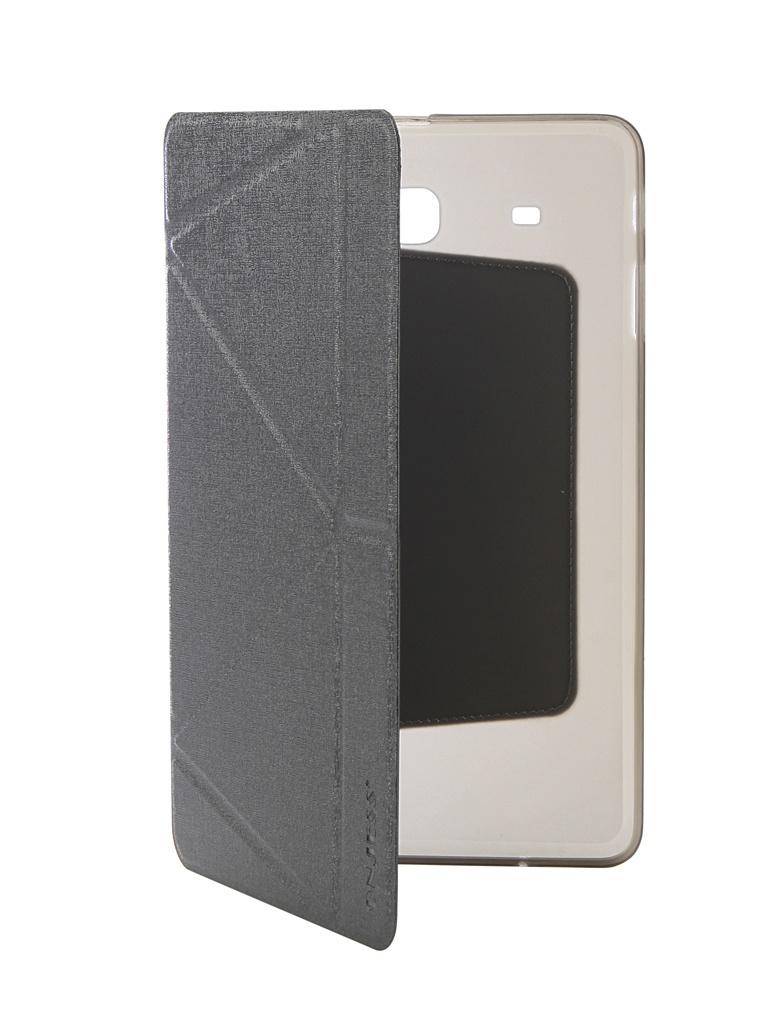 Аксессуар Чехол Onjess для Samsung Tab E 9.6 SM-T561 Smart Grey 908050 аксессуар чехол onjess для samsung tab a 7 0 sm t285 smart black 908039
