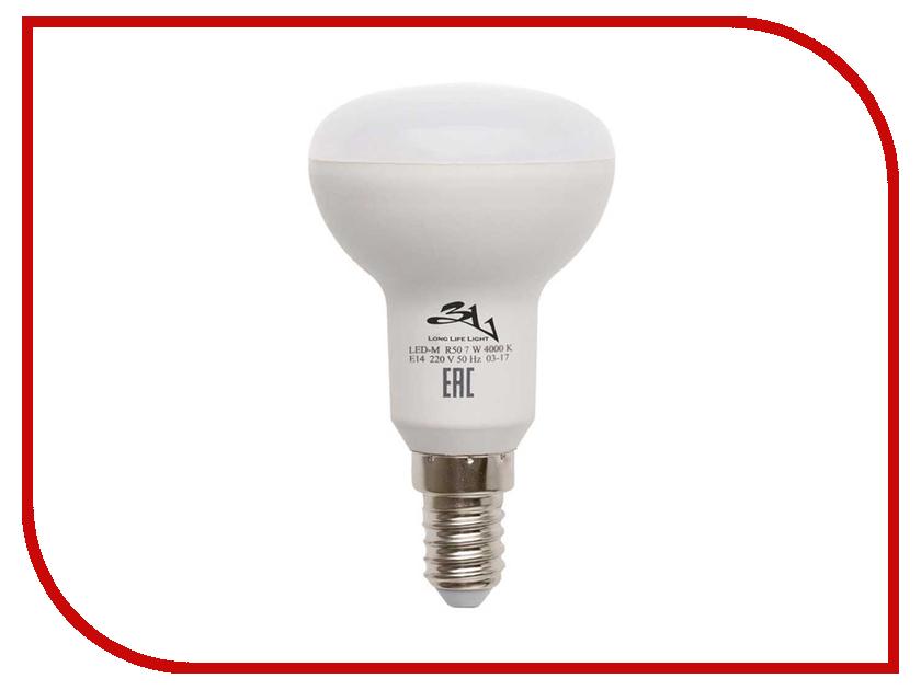 Лампочка 3L Long Life Lamp LED R50 E14 7W 220-240V 4000K 400-450Lm Cold Light