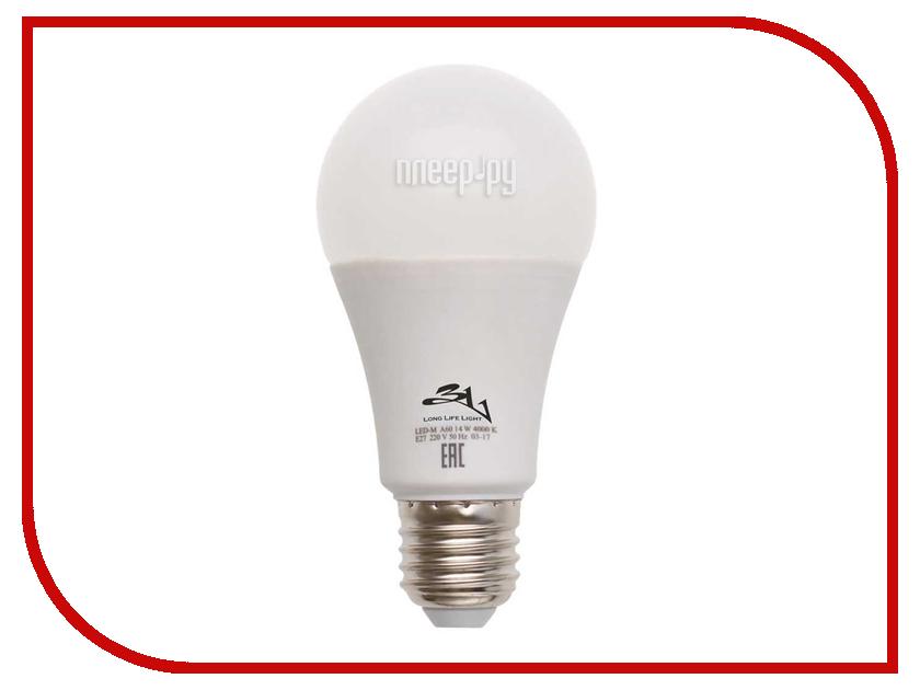 Лампочка 3L Long Life Lamp LED A60 E27 14W 220-240V 4000K 760-850Lm Cold Light