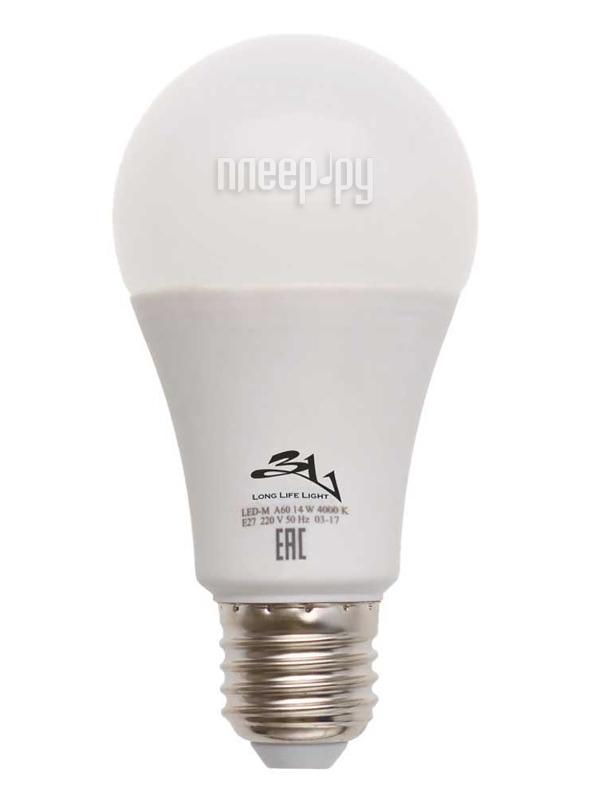 Лампочка 3L E27 A60 12Вт 4000K цены онлайн