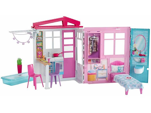 Кукольный домик Barbie кукольный FXG54