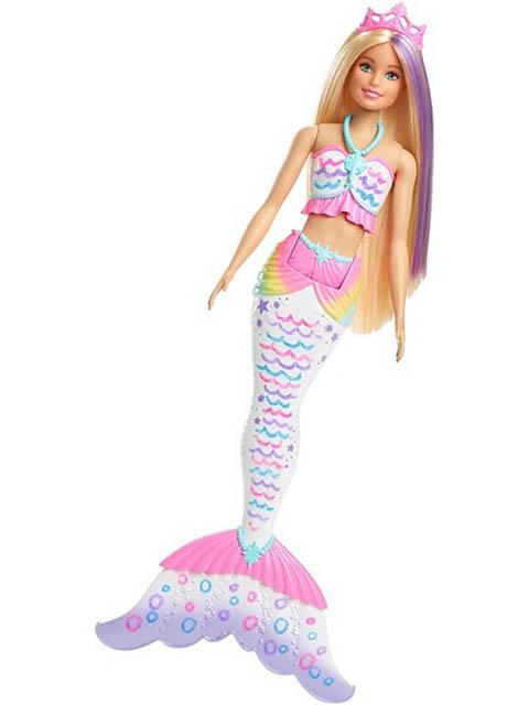 Кукла Barbie Цветная русалочка GCG67 кукла barbie fashionistas 57