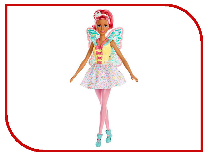 Кукла Mattel Barbie Dreamtopia Фея FXT03 барби barbie barbie кукла barbie фея с летающими крыльями