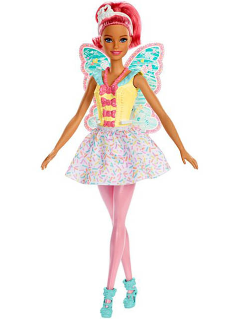 Кукла Mattel Barbie Dreamtopia Фея FXT03
