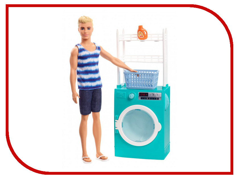 Кукла Mattel Barbie Бритье и стирка Кен FYK51