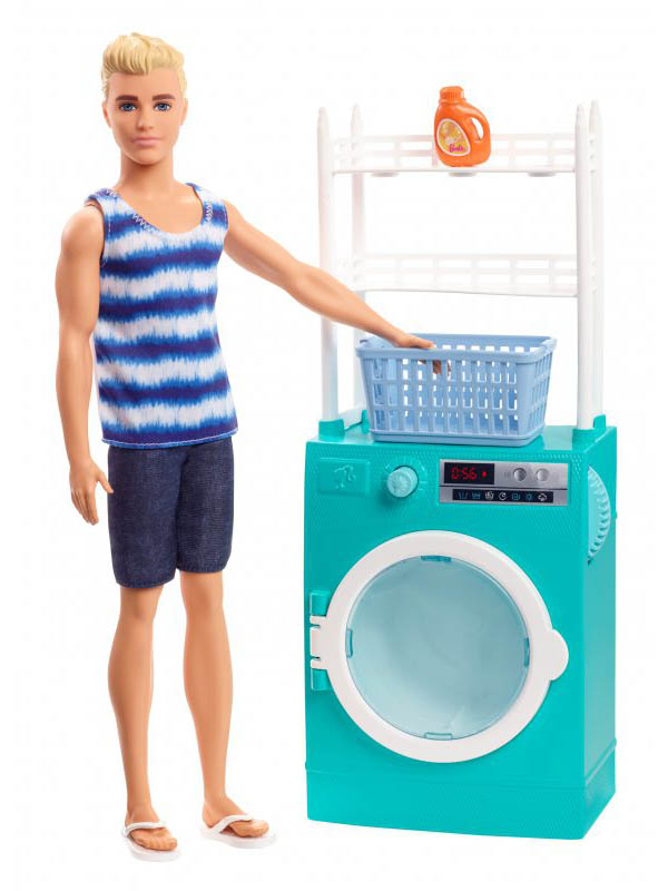 Кукла Mattel Barbie Бритье и стирка Кен FYK51 цена