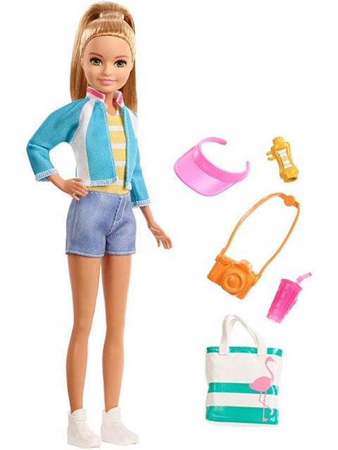 цены на Кукла Mattel Barbie Стейси Путешествия FWV16  в интернет-магазинах