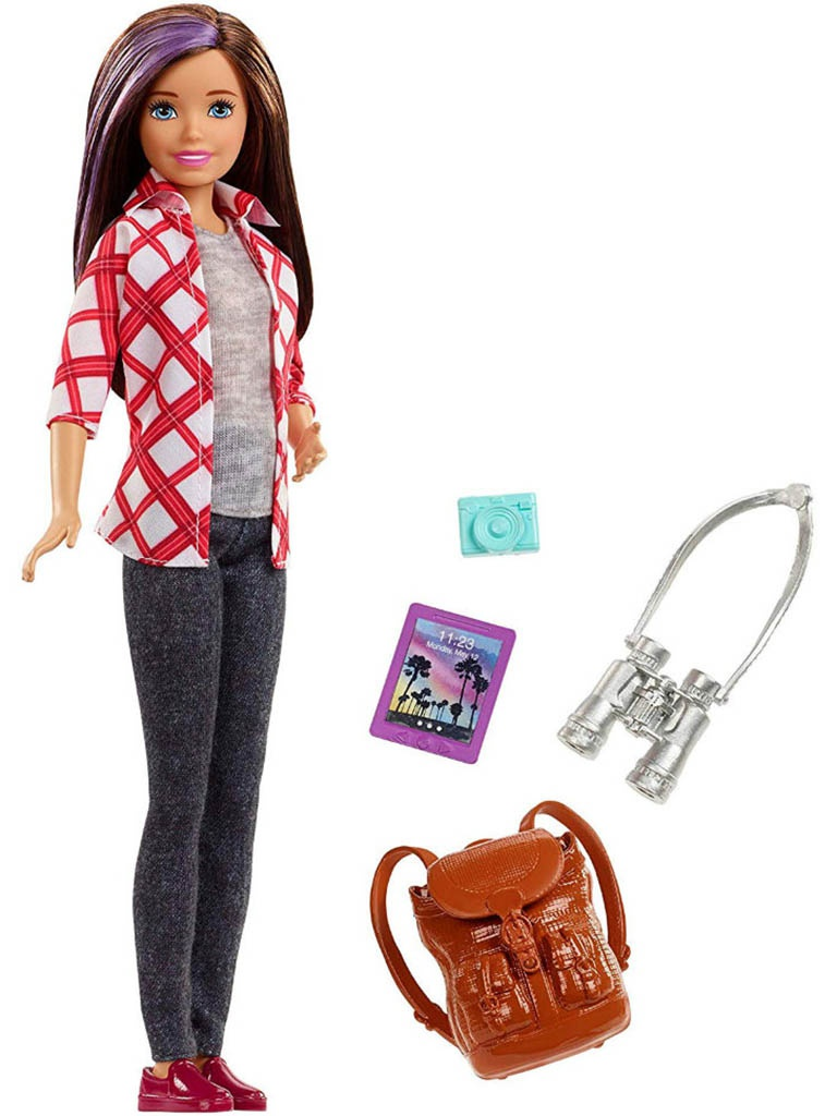 Кукла Mattel Barbie Скиппер FWV17