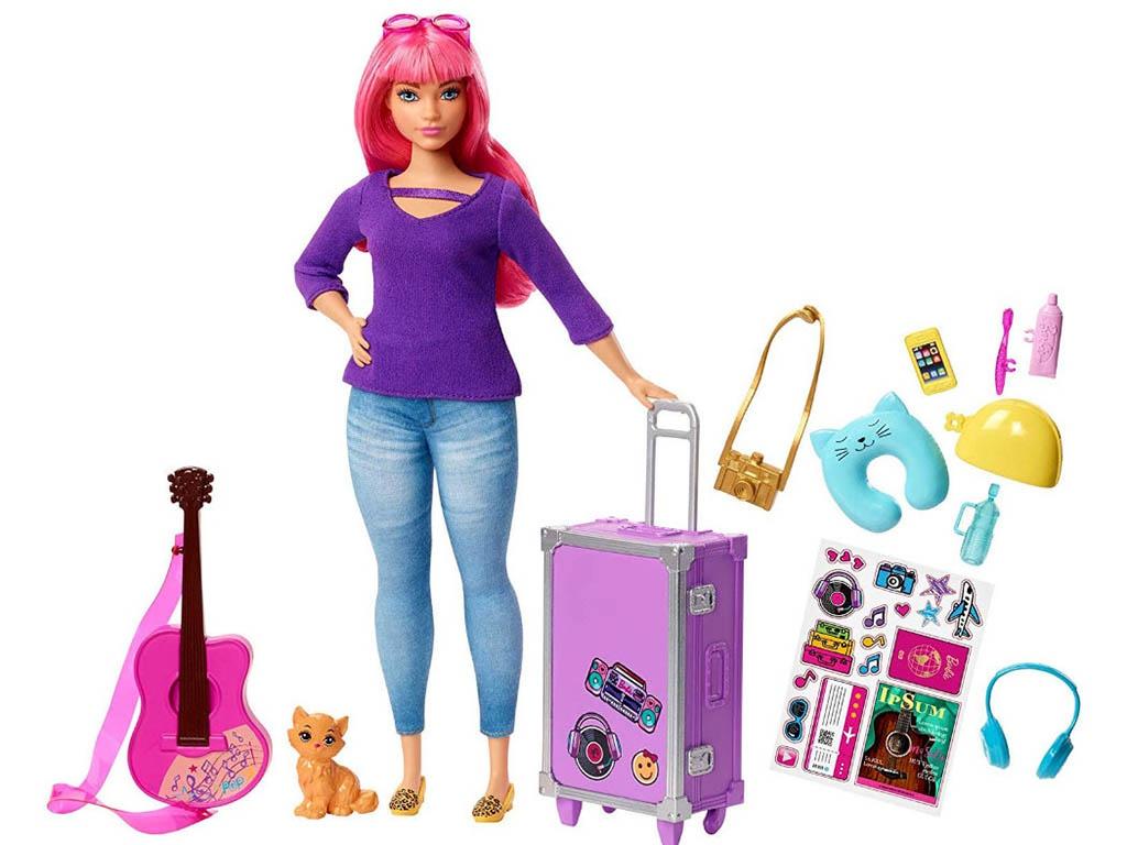 Кукла Mattel Barbie Путешествия FWV26