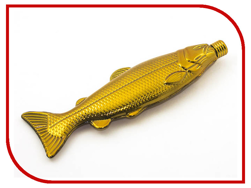 Фляга Эврика Рыба 100ml Gold 99186 рыба
