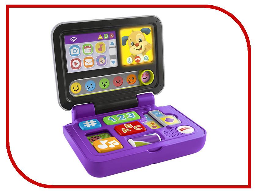 Планшет Mattel Fisher Price Смейся и учись Ноутбук ученого щенка FXK38 настольная лампа ultraflash uf 320p c12 purple 12904