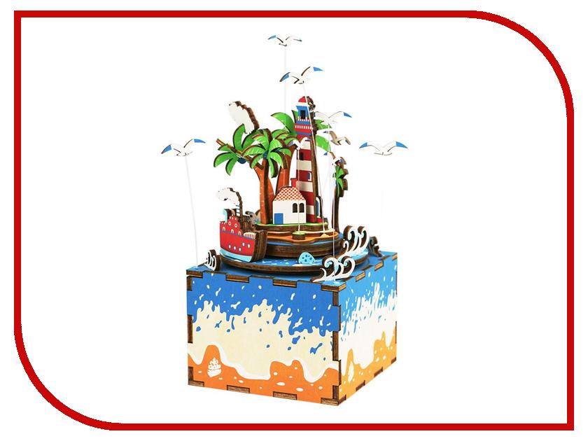 Конструктор DIY House Музыкальная шкатулка Остров AM407 музыкальная шкатулка sound source of yya097