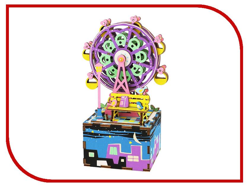 Конструктор DIY House Музыкальная шкатулка Ferris Wheel AM402 бады омега 3