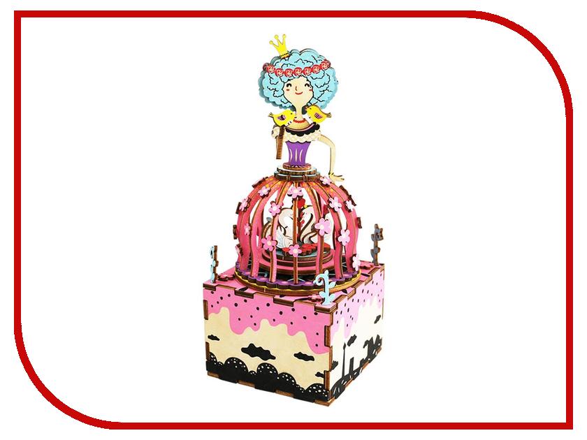 Конструктор DIY House Музыкальная шкатулка AM405 24th diy wooden dollhouse 3d model kit miniatures doll house large villa