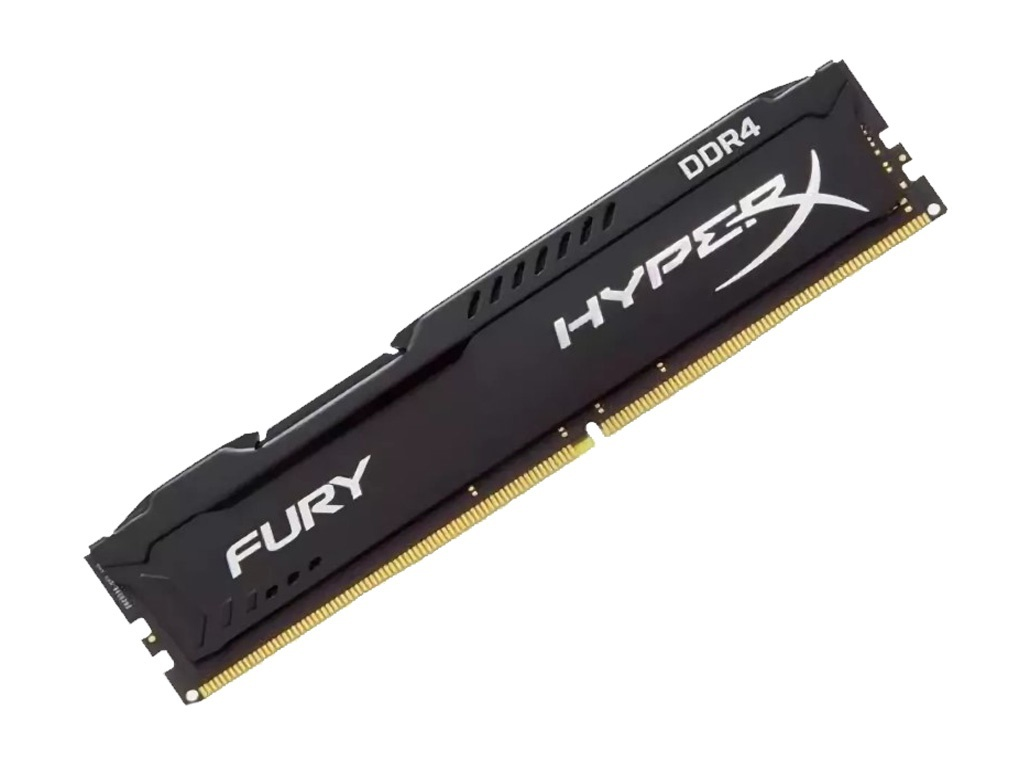 Модуль памяти Kingston HyperX Fury Black DDR4 DIMM 3466MHz PC-27700 CL19 - 16Gb HX434C19FB/16