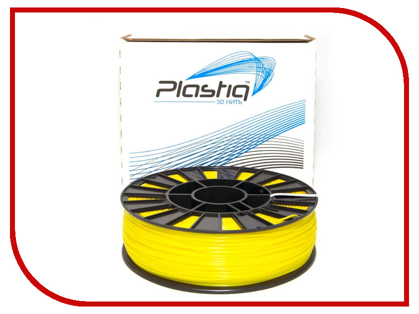 Аксессуар Plastiq PLA-пластик 1.75mm 900гр Yellow eichholtz аксессуар