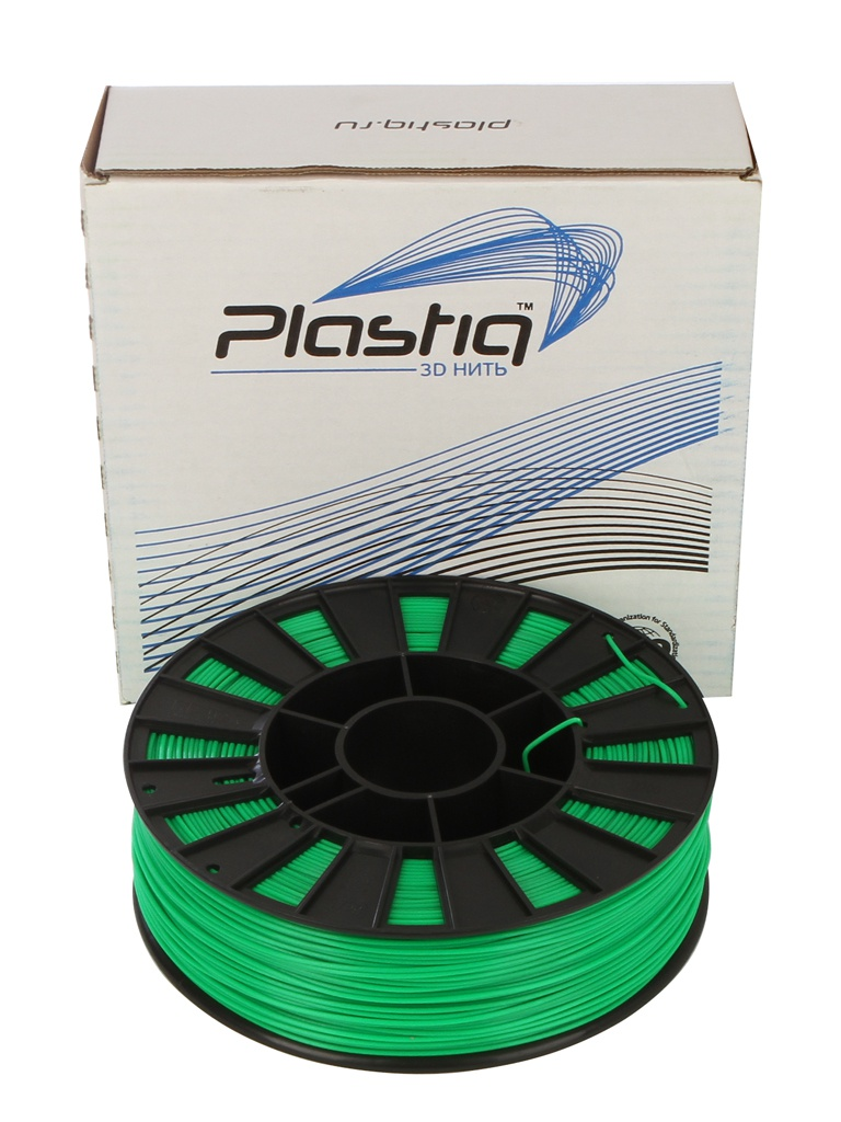 Аксессуар Plastiq PLA-пластик 1.75mm 900гр Green