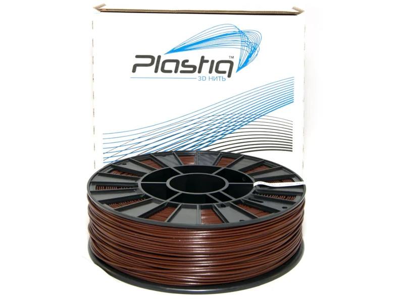Аксессуар Plastiq PLA-пластик 1.75mm 900гр Brown