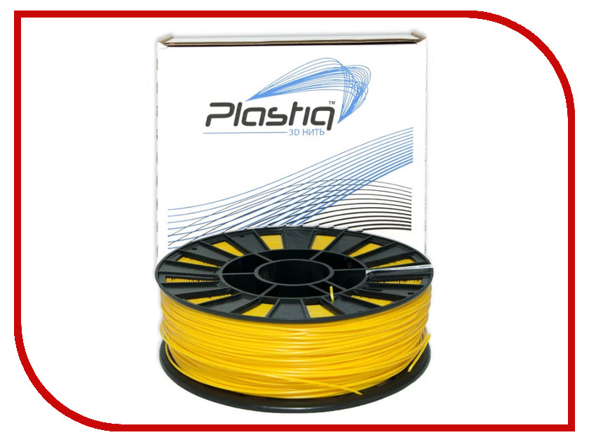 Аксессуар Plastiq ABS-пластик 1.75mm 800гр Yellow eichholtz аксессуар