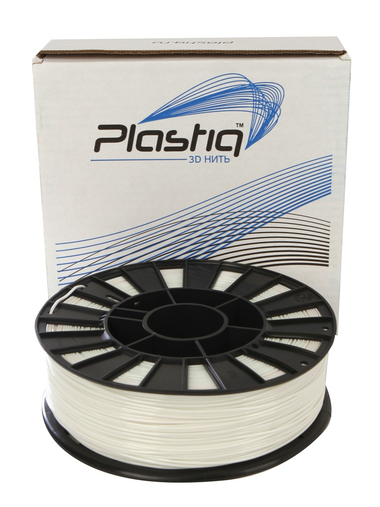 Аксессуар Plastiq PETG-пластик 1.75mm 900гр White