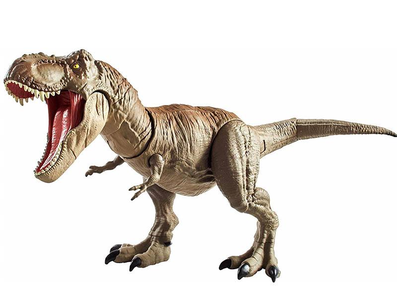 Игрушка Mattel Jurassic World Тираннозавр Рекс GCT91 schleich фигурка тираннозавр рекс 14525