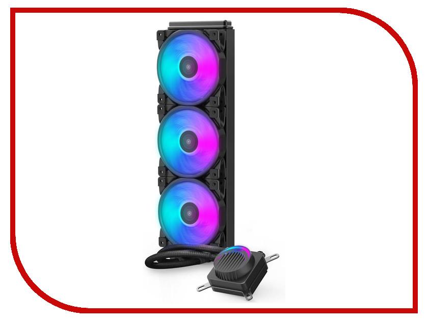 Водяное охлаждение PCcooler GI-AH360U Halo RGB