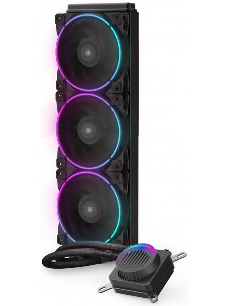Водяное охлаждение PCcooler GI-AH360C Corona RGB