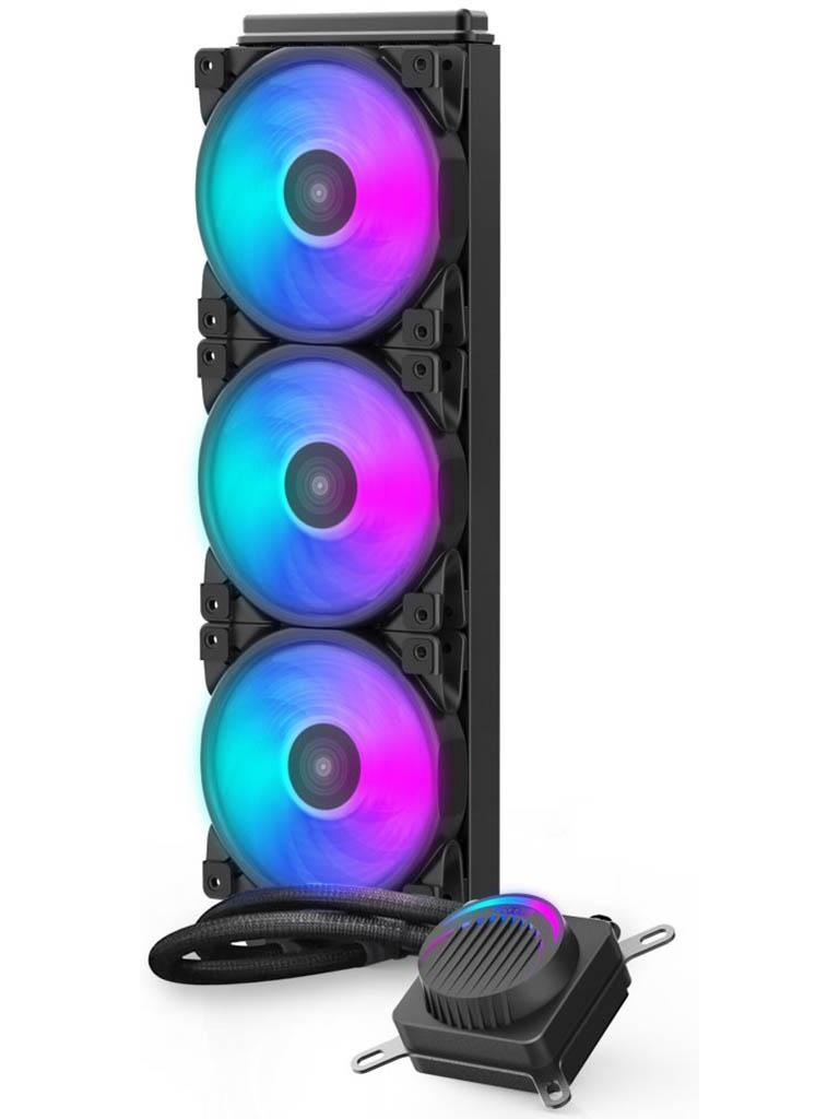 Водяное охлаждение PCcooler GI-AH360P Halo FRGB все цены