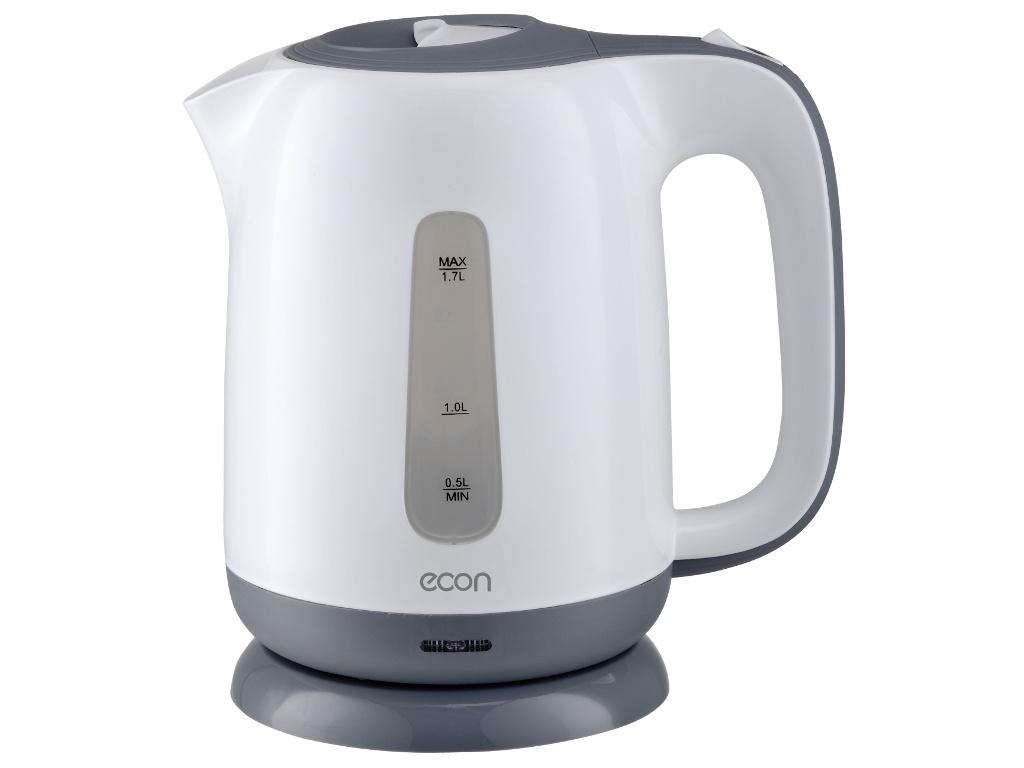 Чайник Econ ECO-1701KE White-Grey