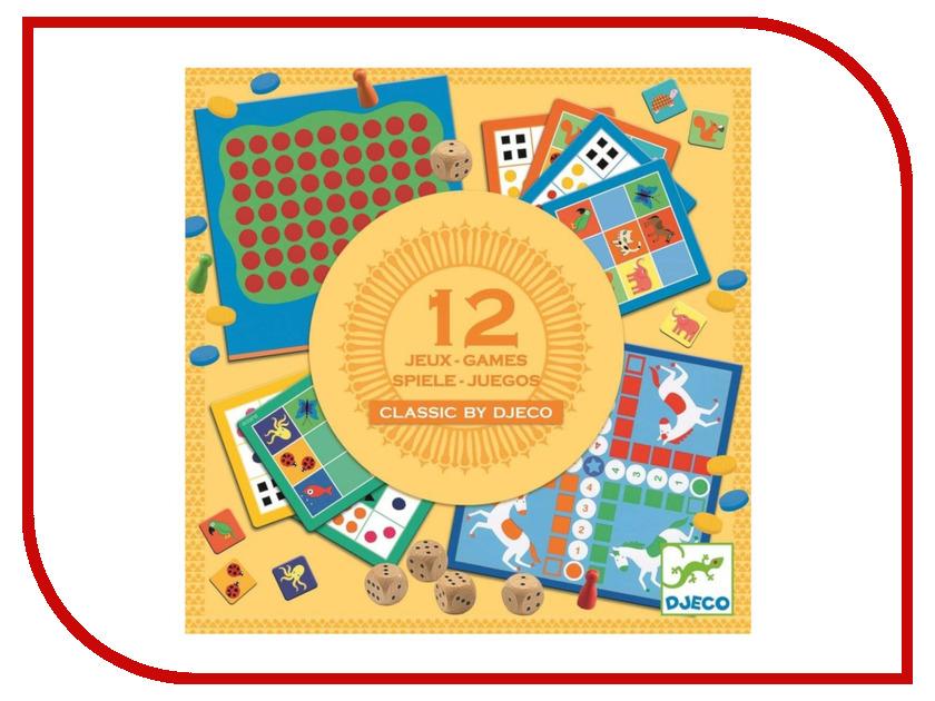 Настольная игра Djeco Классическая 12 в 1 05218