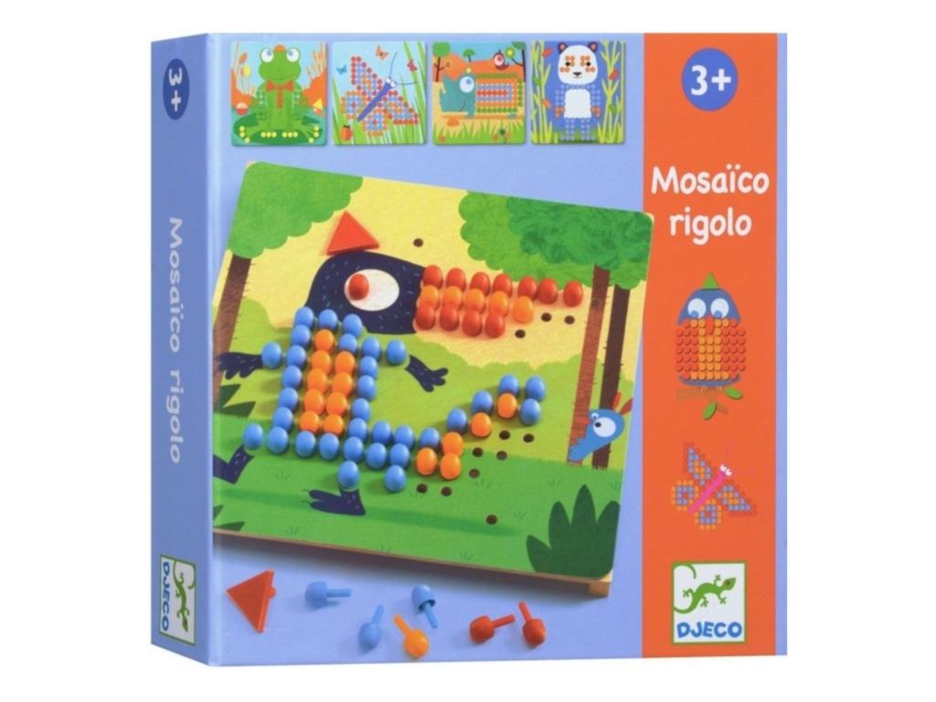 Настольная игра Djeco Мозаика Риголо 08136