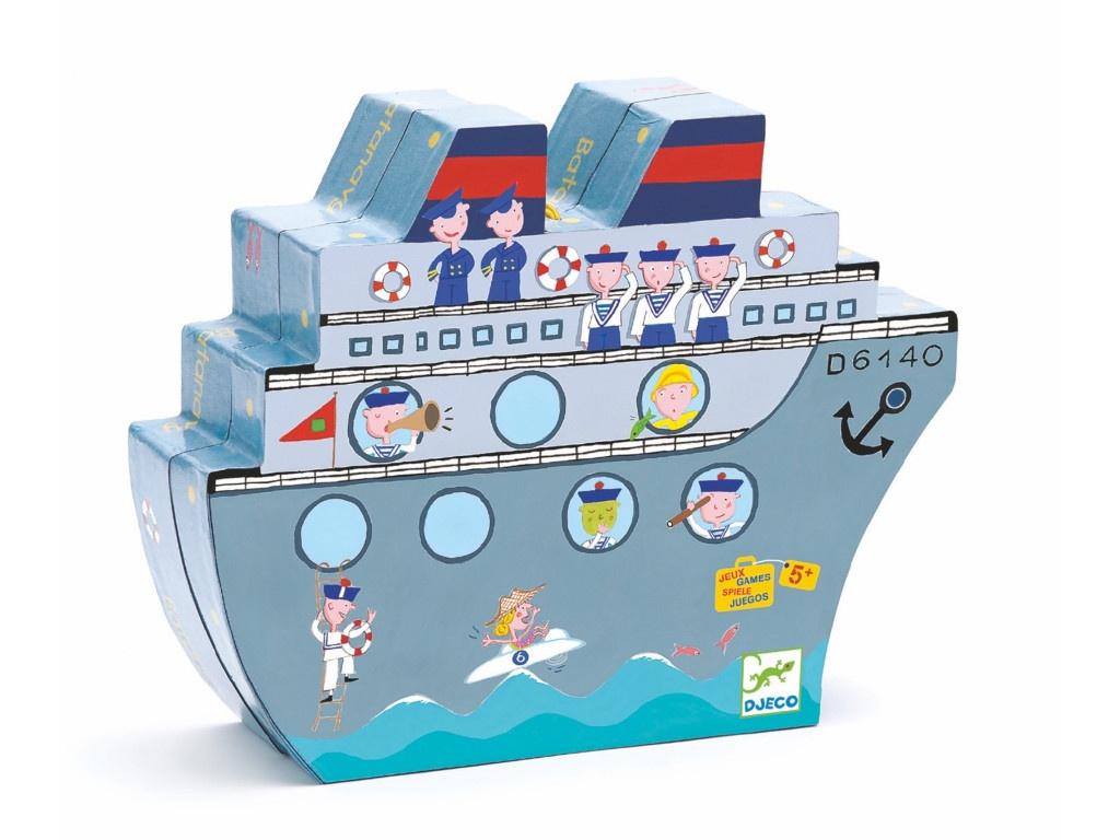 Настольная игра Djeco Морской бой 05270