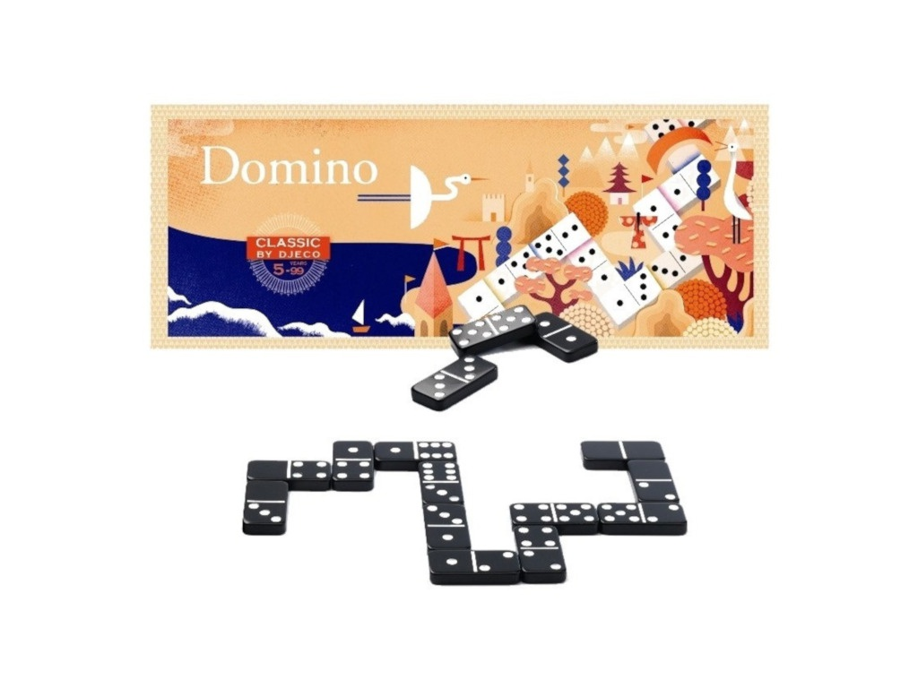 все цены на Настольная игра Djeco Домино 05229 онлайн