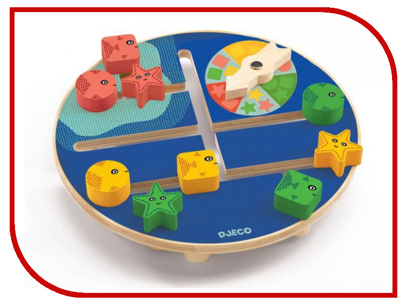 Настольная игра Djeco Подводный мир 01677
