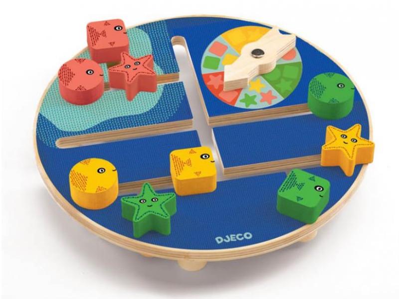 лучшая цена Настольная игра Djeco Подводный мир 01677