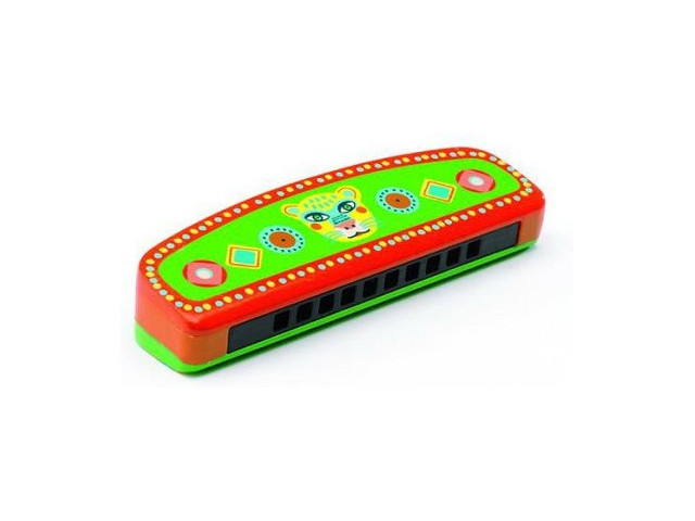 Детский музыкальный инструмент Djeco Губная гармошка 06011