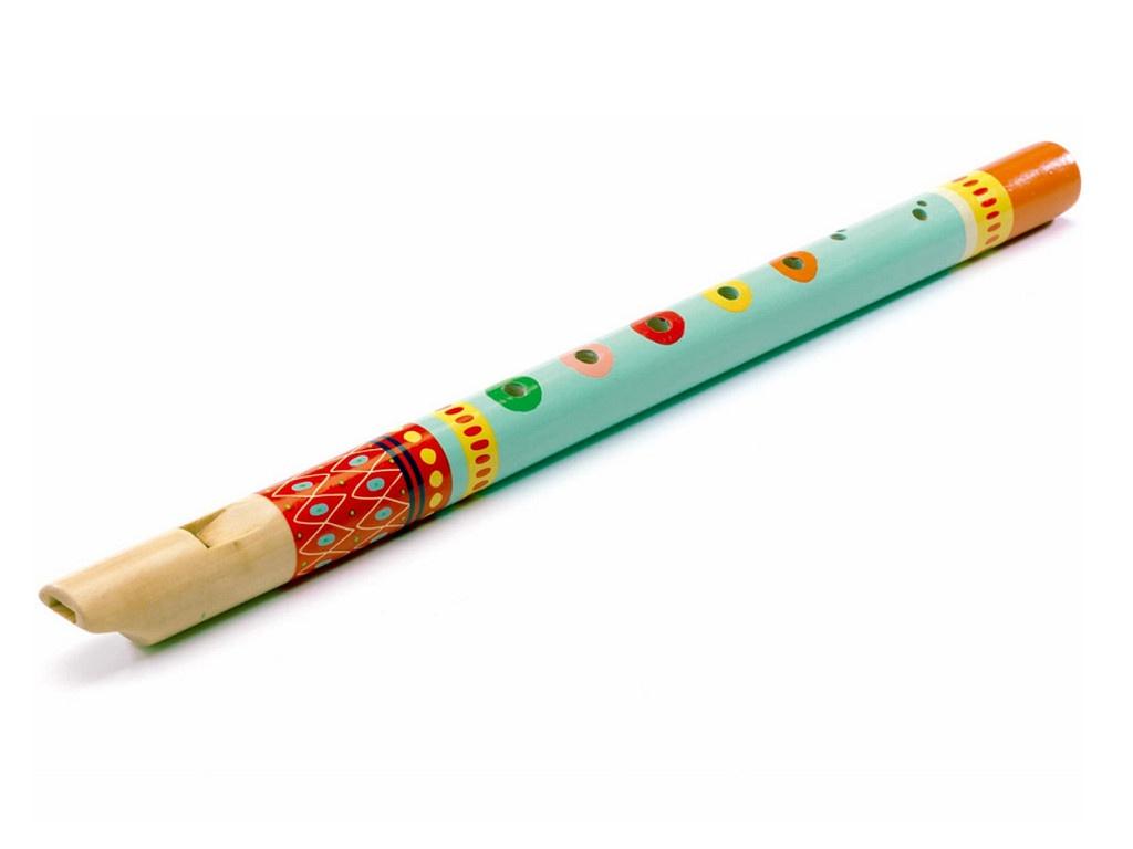 Детский музыкальный инструмент Djeco Флейта 06010 анданте детский музыкальный инструмент кастаньеты