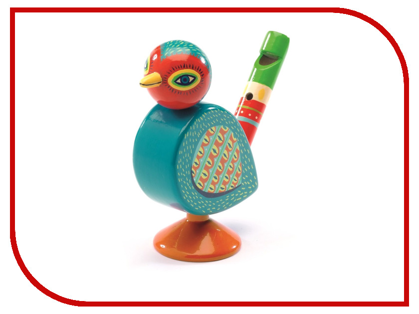 Детский музыкальный инструмент Djeco Свистулька 06009 народный музыкальный инструмент острова сардиния 9 букв