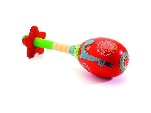 Детский музыкальный инструмент Djeco Маракас 06008 недорго, оригинальная цена