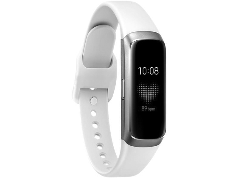 Умный браслет Samsung Galaxy Fit SM-R370 White SM-R370NZSASER умный браслет rover rovermate fit 05 yellow